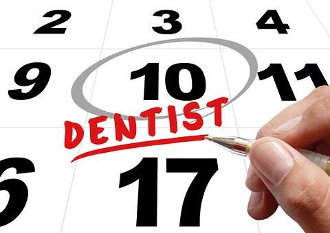 Time, Dentist, Hand, Write, Pen, Note, Calendar, Date