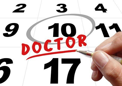 Time, Doctor, Doctor's Appointment, Hand, Write, Pen