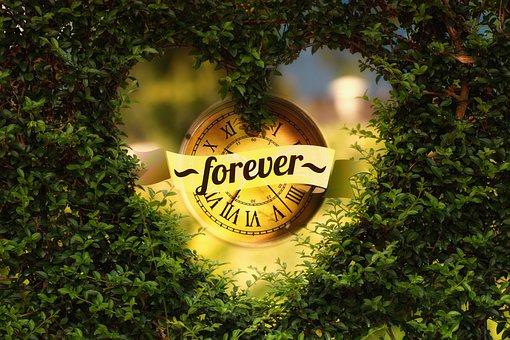 Promise, Clock, Time, Forever, Heart, Herzchen, Love