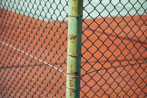 Tennis, Court, Area, Sports, Daniel, Ground, Game, Wire