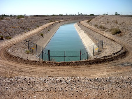 Irrigation, Water, Delivery, Canal, Channel