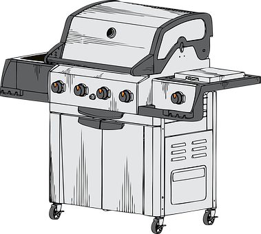 Barbecue, Grill, Propane, Grilled, Meal, Cooking