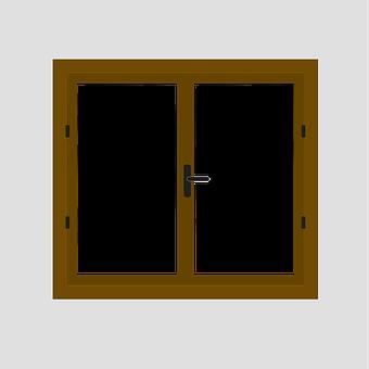 Window, Glass, Reflection, Lock, Wall, Wood Window