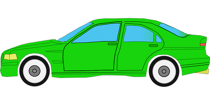 Car, Green, Auto, Vehicle