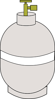 Propane Bottle, Cookout, Grill, Propane, Tank
