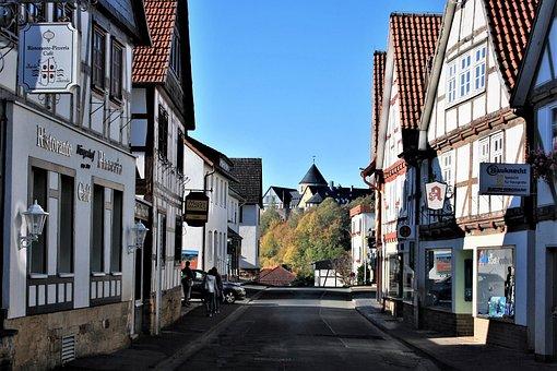 Historic Center, Castle, Fachwerkhäuser, Historically