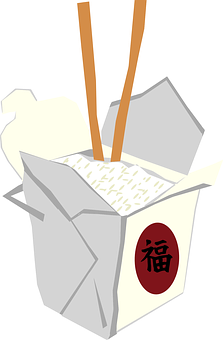 Takeaway, Chinese, Container, Food, Togo