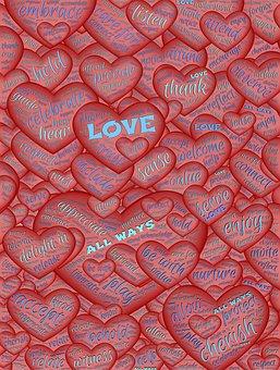 Love, Hearts, Valentine, Red, Symbol, Shape, Love Heart
