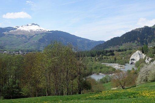 Graubünden, Mountains, Landscape, Ruinaulta