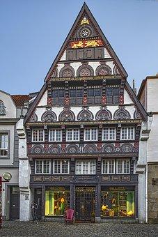 Old Building, Middle Age, Osnabrueck, Osnabrück