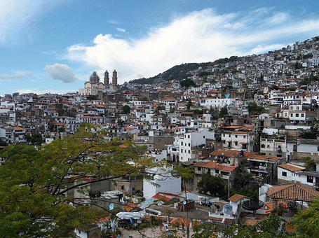 People, Taxco, Mexico, Cathedral, Church