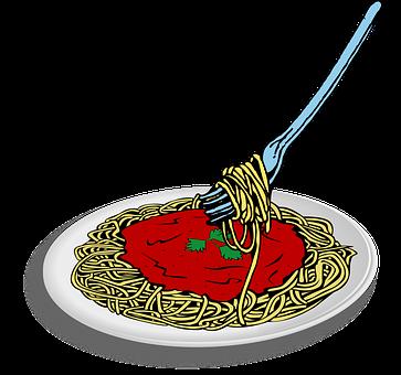 Essen, Food, Noodle, Plate, Spaghetti