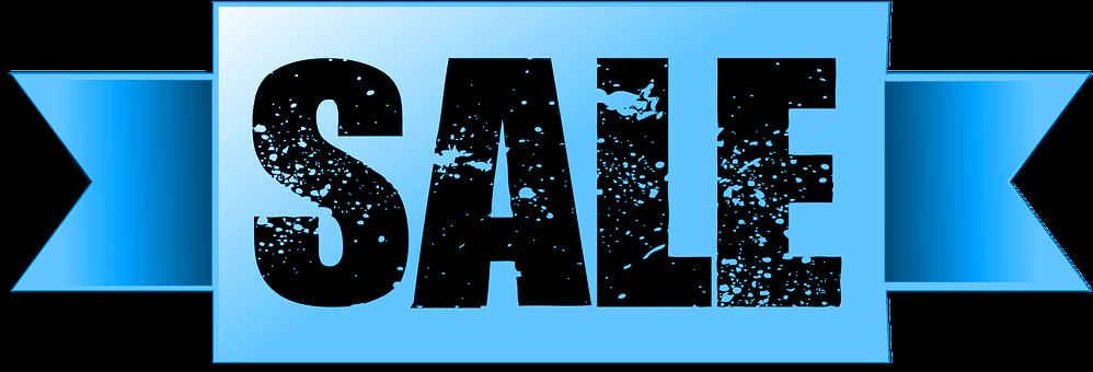 Blue, Banner, Sale, Web, Icon, Transparent, Money