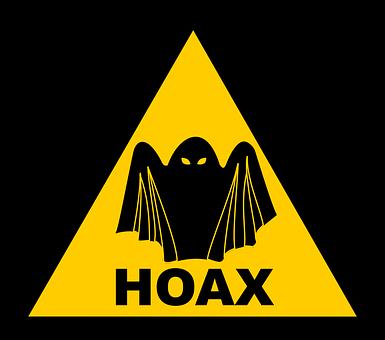 Warning, Danger, Sign, Hoax, Fake News, Caution, Beware