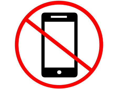 No Phone, No Cell Phone, Phone, Sign, No, Mobile, Cell