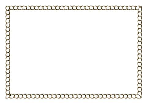 Template, Border, Background, Chain, Stitch, Thread