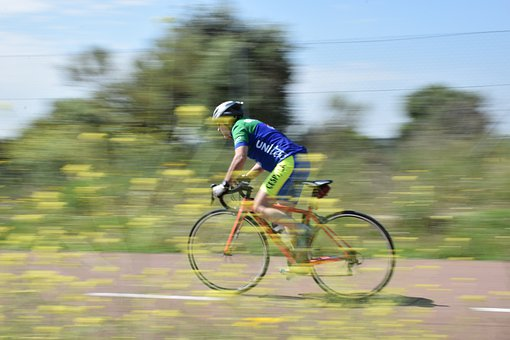 Bicycle, Speed, Cycling, Cyclist, Sport, Healthy