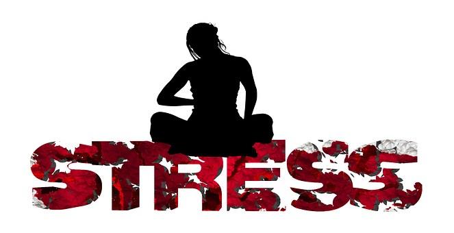 Stress, Word, Letters, Crash, Cracks