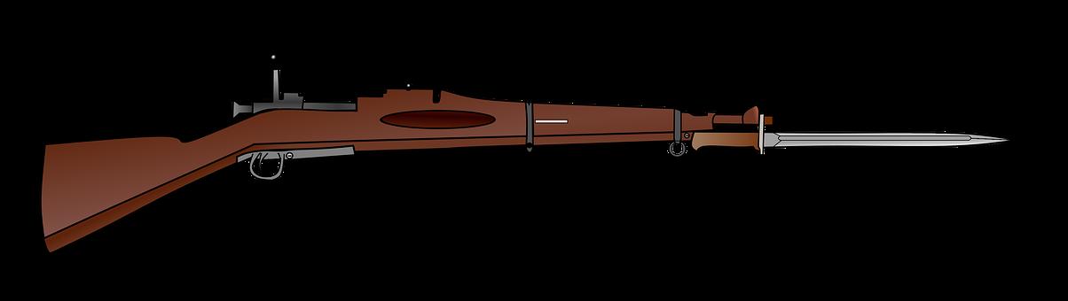 Rifle, M1903 Springfield, Bayonet, War