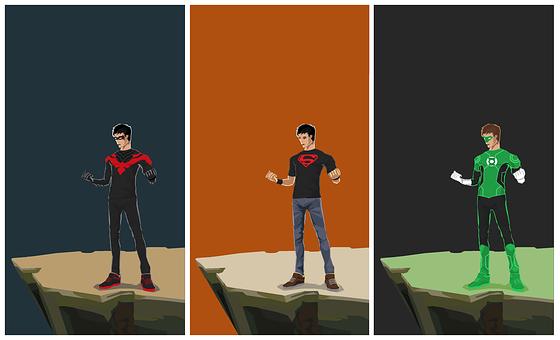 Superboys, Super, Superboy, Superhero, Power, Strength