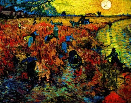 Vincent Van Gogh, The Red Vineyard