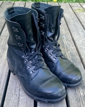 Boots, Army Boots, Army, Military, Footwear, Leather