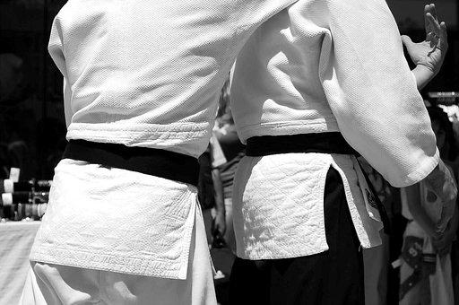 Martial Arts, Aikido, Japan, Black Belt, Sports, Sport