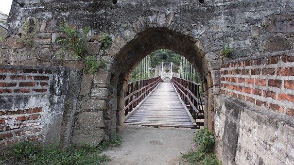 Bridge, Spanish, Coffee Belt, Cauca River, Filadelfia
