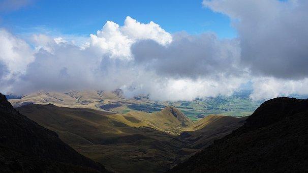 Ecuador, Iliniza, Cloud, Mountain, Nature, Travel