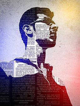Male, Silhouette, Newspaper, Designer, Effects