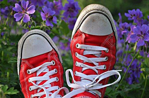 Shoe, Sneaker, Foot, Footwear, Fashion, Shoelace