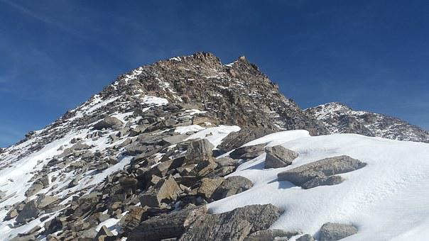 High Angelus, Summit, Ridge, South Tyrol, Alpine