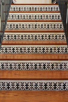 Stairs, Wooden, Staircase, Interior, Design, Stairway