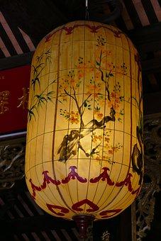 Vietnam, Lampion, Darkness, Hoian, Chinese