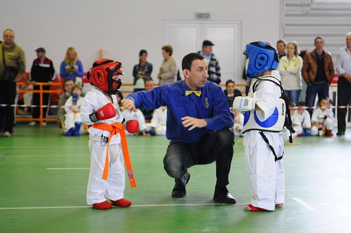 Karate, Kids, Explication, Martial, Child, Belt, White