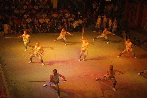 Martial, Performance, Exhibition, Show, Active