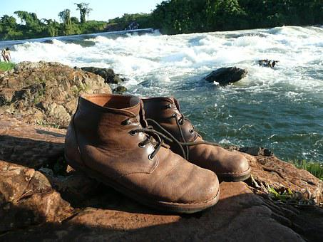 Old Shoes, Hiking, Make A Pilgrimage, Shoes