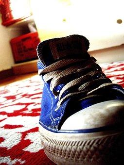 Shoes, Converse, Chuck's, Shoelace, Sneaker, Sneakers