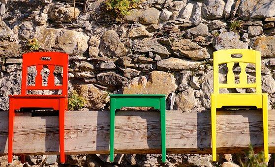 Chairs, Sit, Wood, Nature, Art, Quaint, Cozy, Rest