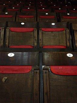 Seats, Chair, Sit, Concert, Seat, Chairs, Wood, Wooden