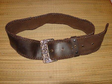 Belt, Skin, Leather Goods, Buckle
