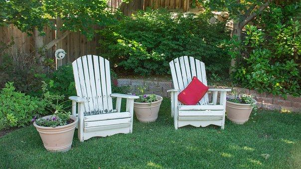 Backyard, Chairs, Leisure, Garden, Yard, Summer, Patio