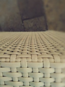 Texture, Chair, White, Lines, Old, Style, Wooden