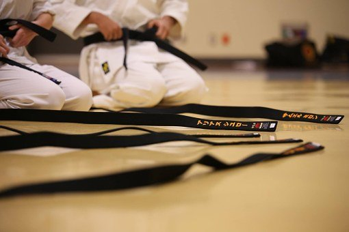 Black Belt, Karate, Traditional, Passage
