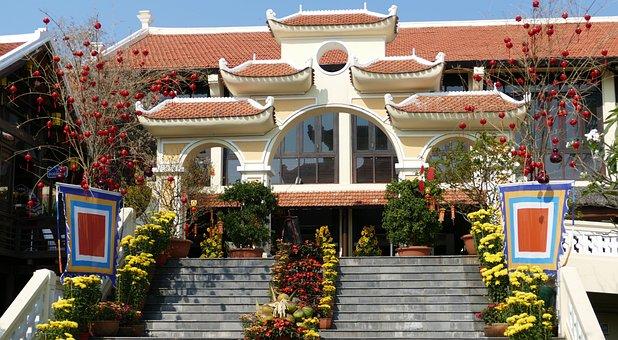 Hoian, Historic Center, Vietnam, Chinese New Year
