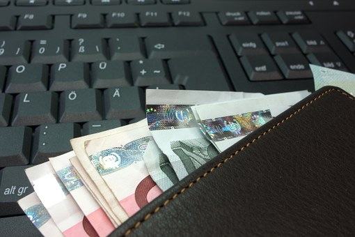 Money, Purse, Bank Note, Euro, Leather, Wallet
