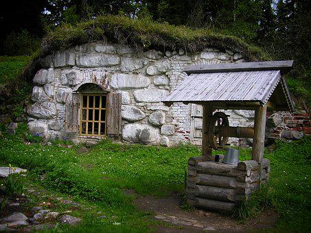 Well, Cellar, Nature, Forest, Cottage, Fairy