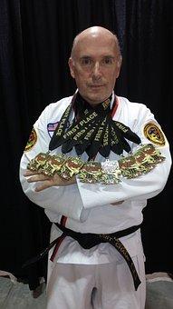 Taekwondo, Karate, Belt, Martial, White, Black