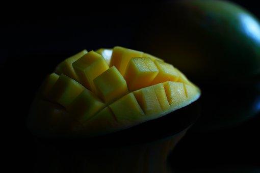 Mango, Delicious, Yellow, Orange, Fresh