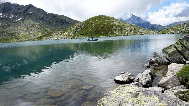 Bergsee, Nature, Graubünden, Alpine, Landscape, Lake